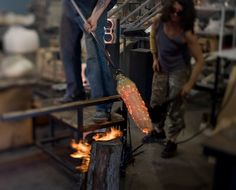 In The Studio with Esque Studio Glassblowers