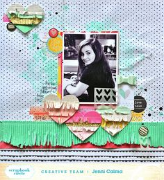 paper C A R D inal: love this - Scrapbook Circle April Add-On