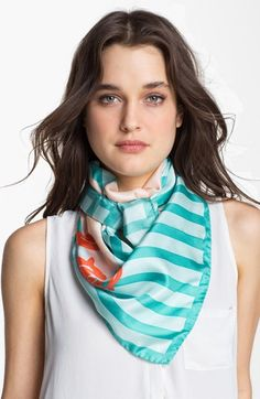 Sonia Rykiel 'La Joie' Print Silk Scarf available at #Nordstrom