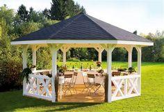 Ein Pavillon im Garten - der Traum für das eigene Zuhause!