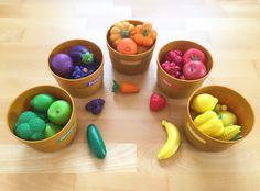 Materialwiese: Fruit and vegetables im Englischunterricht der Grundschule