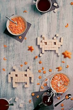 """bit teatime Series"""" Foto di Still life photographer Dina Belenko (on Food Photography Styling, Creative Photography, Candy Photography, Product Photography, Photography Ideas, Best Party Food, Still Life Photographers, Space Invaders, Plant Illustration"""