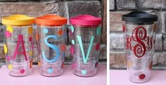 Personalized Polka Dot Pacific Tumblers   Grab yours while they are on sale!!!