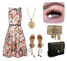 """""""Spring concert"""" by cierra-watkins12 on Polyvore featuring Ted Baker, Hollister Co., Chanel and 2028"""