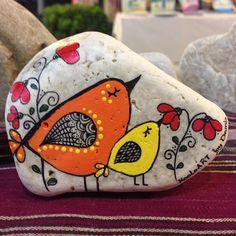 #piedra pintada  stones                                                                                                                                                                                 Mais