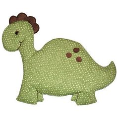 Decorate your little boy's dinosaur themed bedroom or nursery with this fabric dinosaur wall art. Dinosaur measures approximately wide by high. Ribbon is included for easy hanging. Nursery Fabric, Fabric Wall Art, Hanging Fabric, Dinosaur Fabric, Dinosaur Gifts, Easy Sewing Projects, Sewing Ideas, Quilt Baby, Letter Art