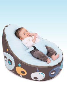 Giraffe Blue Doomoo Seat NEW for 2016 Baby Beanbag From Birth-30kg