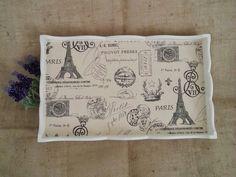 Arte lá em casa: Bandeja de Café na Cama - Paris