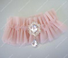 Подвязка Bridal Star Розовая