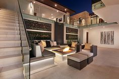 Fire pit ou lounge externo com lareira - veja modelos e dicas para aderir essa tendência!