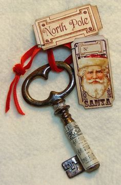 Santas' key to the North Pole