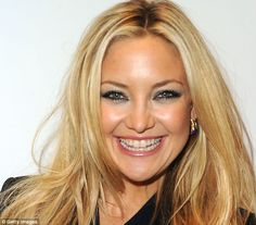 KATE HUDSON: 'You have to live life with your heart' | Daily Mail ...