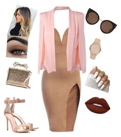 """""""in the date"""" by sandra-civinskaite on Polyvore featuring Gianvito Rossi, RED Valentino, STELLA McCARTNEY, Burberry and Lime Crime"""