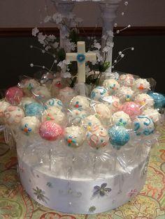 Communion Cake Pops