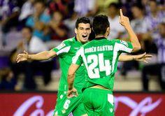 Rubén Castro siempre dando alegrías. Siempre en su sitio y siempre con gol.