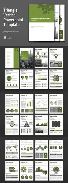 Triangle Vertical PPT Template. Business Infographic. $41.00