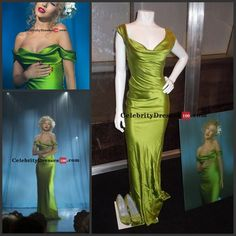 I found some amazing stuff, open it to learn more! Don't wait:https://m.dhgate.com/product/christina-aguilera-green-dress-burlesque/178857030.html