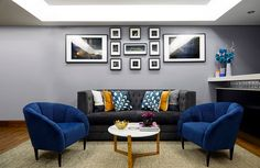 Decor By Enass is a young London-based interior design company that also caters to the film and television industry. Copper Furniture, Furniture Decor, Interior Design Companies, Grey Walls, Interior Styling, Interior Inspiration, Vip, House Design, Couch