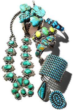 37 Turquoise jewelry trend