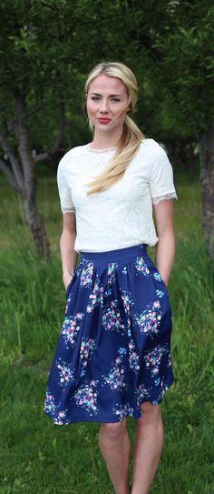 Cute skirt, nice length. Love any skirt/dress with pockets!!! AS stitchfix.com/referral/6455003
