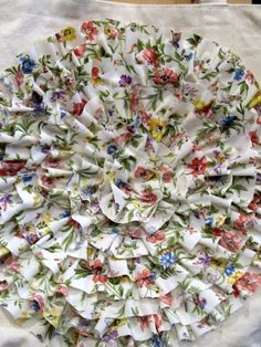 No Sew ruffle flower...tutorial - the PEARL blog