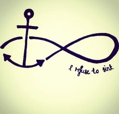 Infinity sign inspiration.