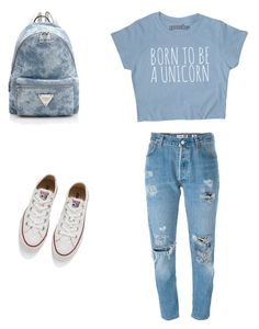 School by fany29-2011 on Polyvore featuring polyvore, fashion, style, Levi's, Converse and clothing