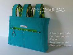 Novice Beginnings: WHEELCHAIR BAG