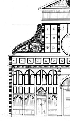 Santa Maria Novella, Tuscany, Florence, Renaissance, Restoration, Architecture, Versace, Projects, Paisajes