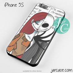 The Nightmare Before Christmas quotes Phone case for iPhone 4/4s/5/5c/5s/6/6 plus