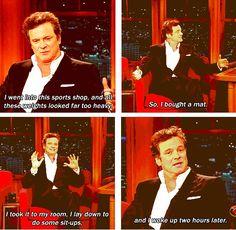 i love Colin Firth