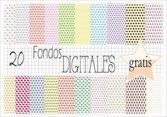Scrapbooking digital: 20 fondos gratis para descargar