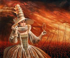 Glamorous History of Wars  2015    -  Michael Cheval