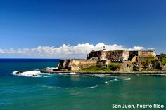 Looking for a sunny escape? Temperatures average 85 degrees, year round, in San Juan.