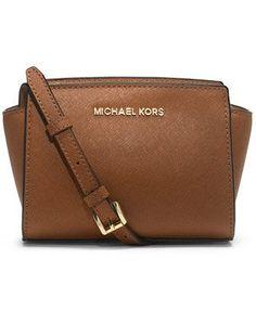MICHAEL Michael Kors Selma Mini Messenger Bag $178 macys