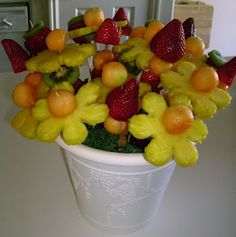 Tutorial on how to make your own Fruit Bouquet. :)