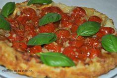 Tatín de tomates cherry - Cherry tomatoes tatin