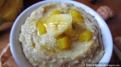 Kaszomania - pomysły na dania z kaszy jaglanej: Mus bananowo-jaglany Breakfast Bowls, Mashed Potatoes, Food And Drink, Cake, Ethnic Recipes, Sweetest Thing, Dinner Ideas, Inspire, Whipped Potatoes