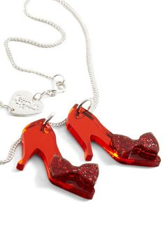 Ruby Two Shoes Necklace