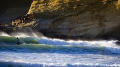 Surfer catches a wave on Oregon Coast near Pacific City From Bing Pacific City Oregon, Oregon Coast, Pacific Northwest, Oregon Dunes, Hispanic Heritage Month, Rivage, Beaches In The World, Most Beautiful Beaches, Ocean Beach