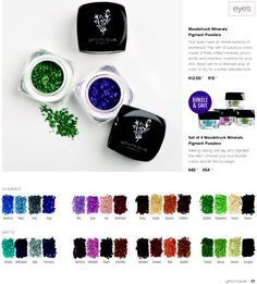 Younique Product Catalog for March to August 2015! So Many Fabulous NEW Products And Mind Blowing NEW Collections! #moonstruckmineraleyepigments