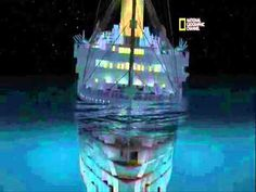 ''TITANIC sinking in real time.'' link: https://youtu.be/rBmIzBr3VLc