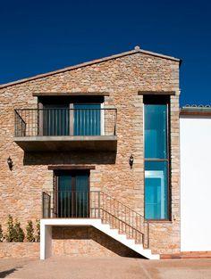 ⇢ Masía Tonilla ⇠ Carácter rural y #arquitectura contemporánea #proyectos #rehabilitación