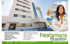 Parafarmacia del Hospital Internacional Medimar, junto al nuevo edificio.