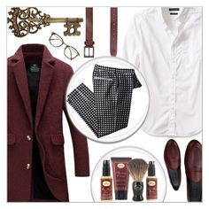 """Men's Fashion"" by salihovic-nihad ❤ liked on Polyvore featuring Banana Republic, Element, Galet, Oliver Peoples, The Art of Shaving, men's fashion and menswear"