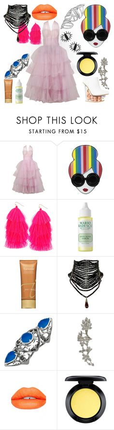 """""""Friend Icon"""" by qwertyuiop-sparta ❤ liked on Polyvore featuring Alice + Olivia, Humble Chic, Mario Badescu Skin Care, Jane Iredale, Stephen Webster, Sugarpill, MAC Cosmetics and ban.do"""