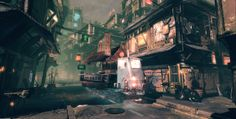 Chinatown UDK environment WIP - Polycount Forum