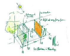 Renzo Piano Sketch  #architecture #Piano #Renzo Pinned by www.modlar.com