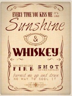 Frankie Ballard sunshine and whiskey tumblr