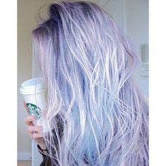 aesthetic, blue, girl, grunge, hair, hipster, indie, kawaii ...